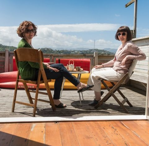 Janice & Sue organise their Eating Tokyo Tours from a boatshed in Evans Bay